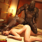 Black men fuck cream skinned sluts